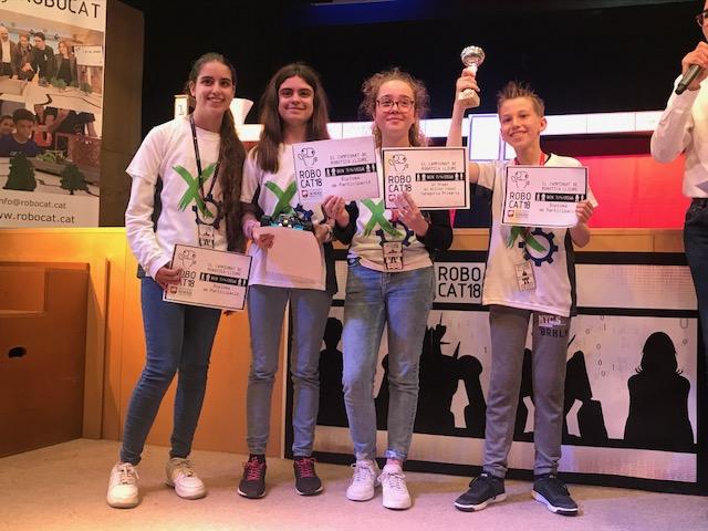 """L""""equip """"MAXBOT 1"""" guanya la RoboCAT a la fase de Barcelona"""